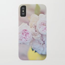 The Last Days of Spring - Old Roses III iPhone Case