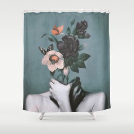 inner garden 3 Shower Curtain