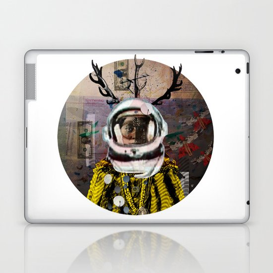 Deadly Kiss · Crop Circle Laptop & iPad Skin