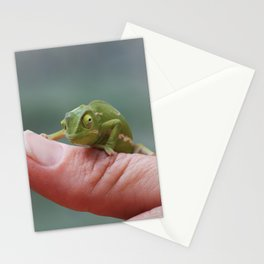 Chameleon cuteness personified Stationery Cards