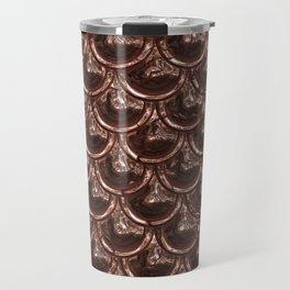 Precious Shimmering Copper Scales Travel Mug