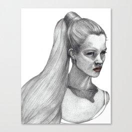 ☽ ♒ ♋ Tides ♋ ♒ ☾ Canvas Print