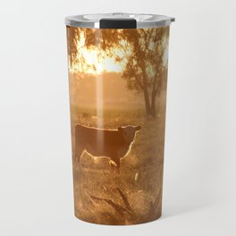 Caught in a Gaze Travel Mug