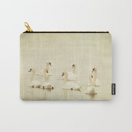 seven swans a swimming... Carry-All Pouch