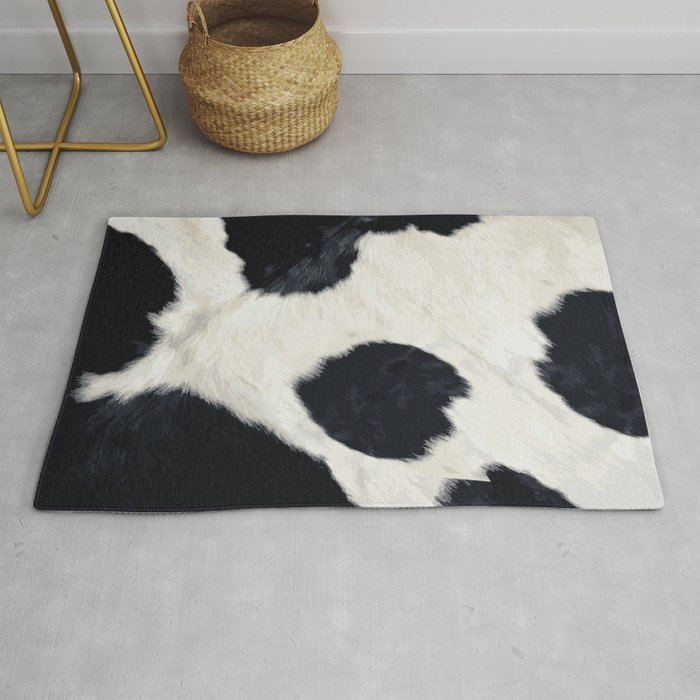 Cow Skin Rug By Mikitodesigns