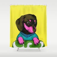 best friend Shower Curtains featuring Best Friend by Eolia