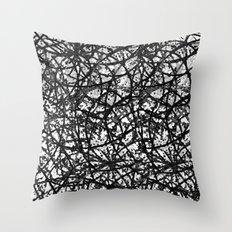 Grunge Art Abstract  G59 Throw Pillow