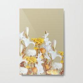 Autumn Floras Veritcal Metal Print