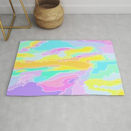 Color Collage Rug