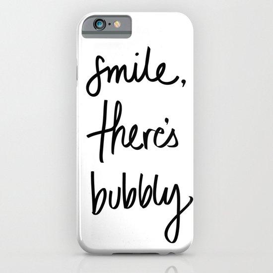 Smile - Bubbly iPhone & iPod Case
