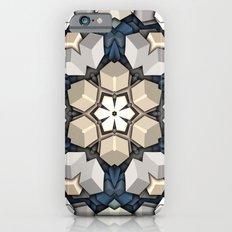 Abstract 3D Cubes Mandala iPhone 6s Slim Case