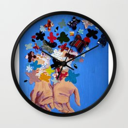 Romanticized Wall Clock