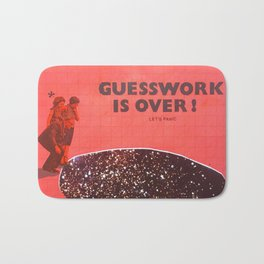 Guesswork is over - let's panic Bath Mat