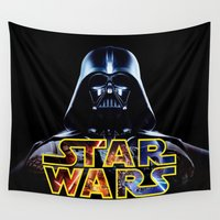 hero Wall Tapestries featuring Hero Space by Febrian89