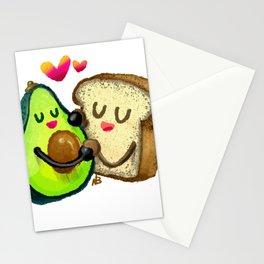 Avocado Toast Stationery Cards