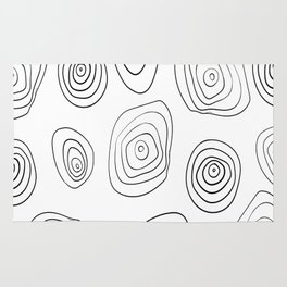 Hypnotic Thought Patterns Rug