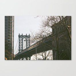 Williamsburg Bridge Views Canvas Print