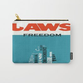 Laws of Freedom Carry-All Pouch