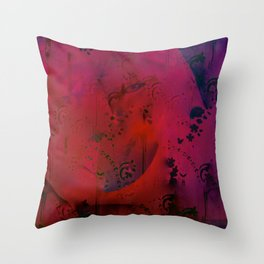 Roaring Times Throw Pillow