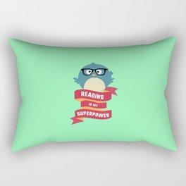 Reading is my Superpower T-Shirt D2g6d Rectangular Pillow