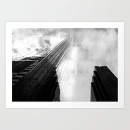 Comcast Building Art Print