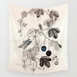 Murucuja baueri/Passiflora aurantia Wall Tapestry