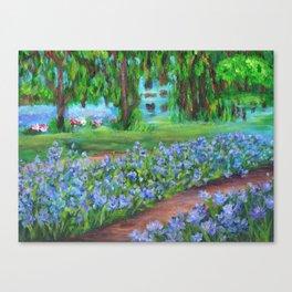 Monet's Garden AC20110715a Canvas Print