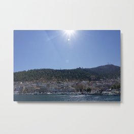 Sunny Kalymnos Metal Print