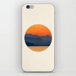 Saffron Sunset iPhone Skin