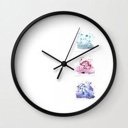 Botanical Impressions: BOUQUET 1 STUDY Wall Clock