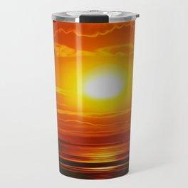 Golden Waters... Travel Mug
