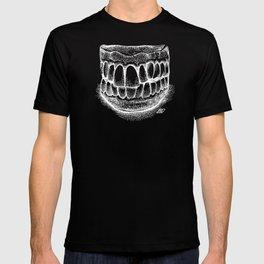 Grandpa's Dentures (white) T-shirt