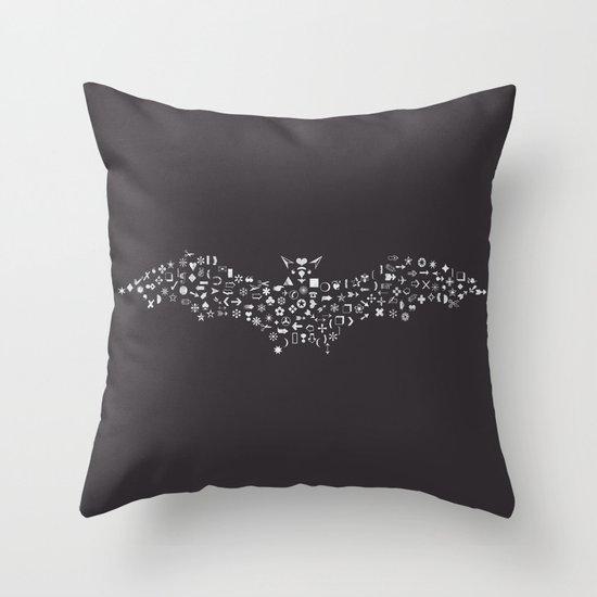 Dingbat Throw Pillow