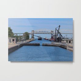 A View from the Soo II Metal Print