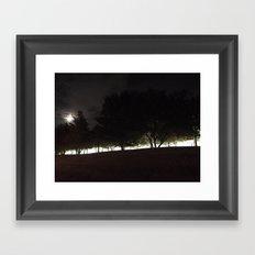 Belong to The Night Framed Art Print