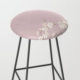 Pink Blossom Bar Stool