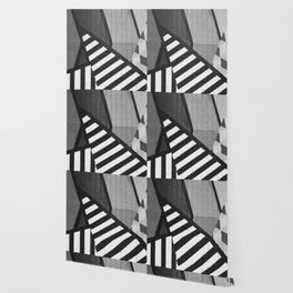 Abstract Art (Black and White) Wallpaper