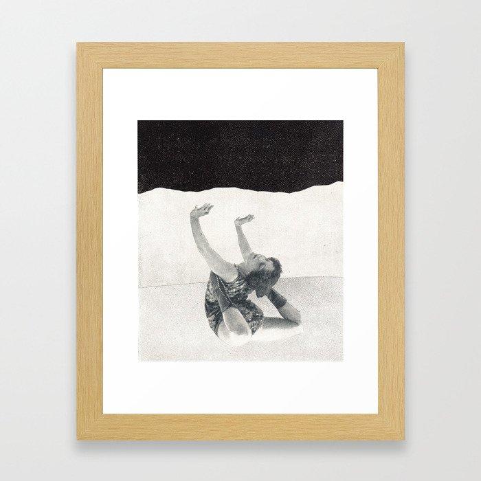 contortion Framed Art Print