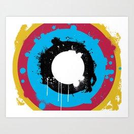slash target Art Print