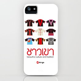 The Hilltribes of Thailand iPhone Case