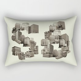 Artitecture  Rectangular Pillow
