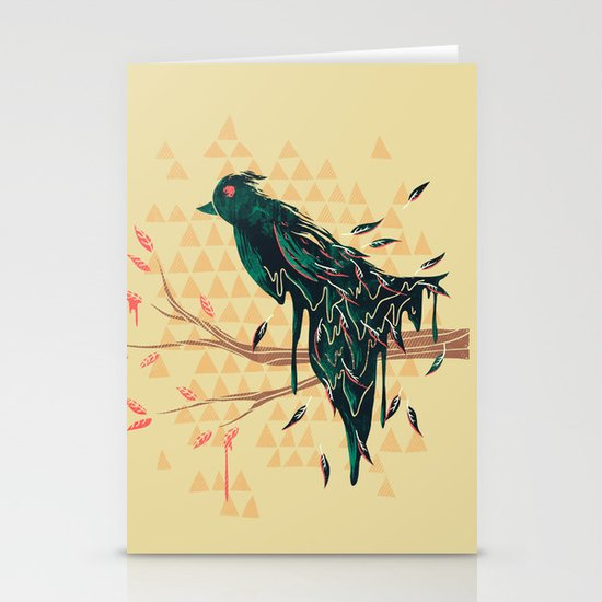 Fading Beauty Stationery Cards