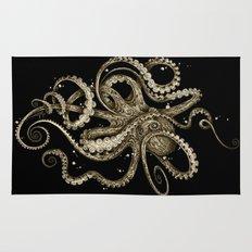 Octopsychedelia Sepia Rug