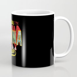 Vintage Design Today Im Gonna Stay Positive Coffee Mug
