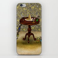 cheese iPhone & iPod Skins featuring Cheese by Anna Shell
