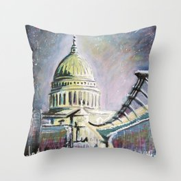 St Pauls I Throw Pillow