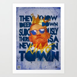 King of the Ring Art Print
