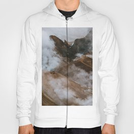Kerlingjarfjöll smoky Mountains in Iceland - Landscape Photography Hoody