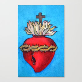 Most Sacred Heart of Jesus Canvas Print