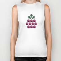 gem Biker Tanks featuring fruit gem by Pinkspoisons